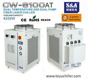 S&A water chiller for 500w CNC Fiber laser cutter