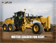 Motor Grader for Rent in India Eqpt.in