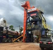 Mobile Asphalt Concrete Plant Sinosun 120 t / h