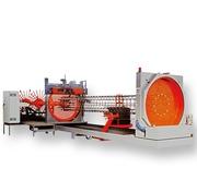 Line for welding cylindrical frames TJK HL1500 V