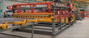Semiautomatic mesh welding line TJK GWCZ 2400/2800