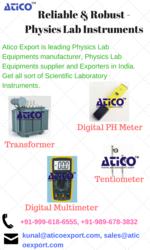 Get Best Physics Lab Equipment Manufacturer in India - Atico Export