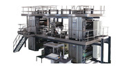 Used ORIENT WEB offset printing machine