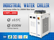 Refrigeration Compressor Water Chiller for 2KW Fiber Laser Metal Cutti