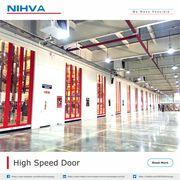 High Speeds Automation Doors | NIHVA Technology
