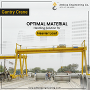 Leading Gantry Crane Manufacturing Company